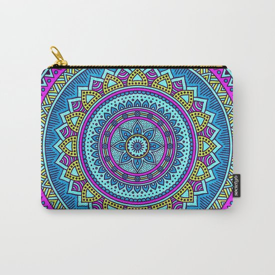 Hippie Mandala 20 Carry-All Pouch