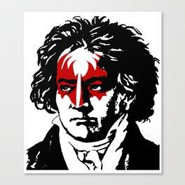Beethoven Rock Canvas Print