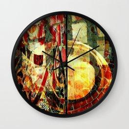 Mayan series 15 Wall Clock