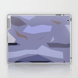 Fragmented Violet Laptop & iPad Skin