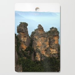 Three Sisters Sydney Australia Cutting Board