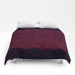 Facets - Dark Purple Comforters
