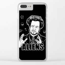 Aliens Guy (Giorgio Tsoukalos) Clear iPhone Case