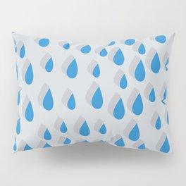 3D Water Drops Pillow Sham