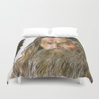 gandalf Duvet Covers featuring Gandalf by Labani