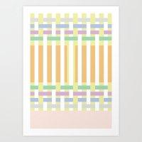 geometric8 Art Print