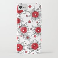 sunflowers iPhone & iPod Cases featuring Sunflowers by Gosia&Helena