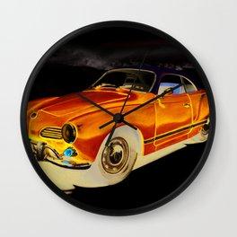 Karmann Ghia Wall Clock