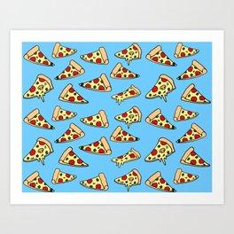 PIZZA HOT Art Print