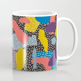 Memphis Inspired Pattern 1 Coffee Mug