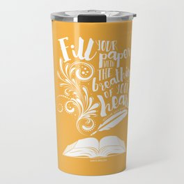 The Breathings of Your Heart Travel Mug