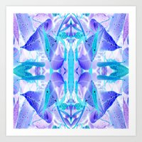 crystal Art Prints featuring Crystal by Cs025