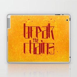 Break the chains 2 Laptop & iPad Skin