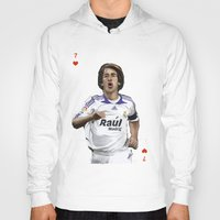 real madrid Hoodies featuring Raul Madrid by Dano77