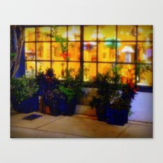 Lights in the Squares Canvas Print