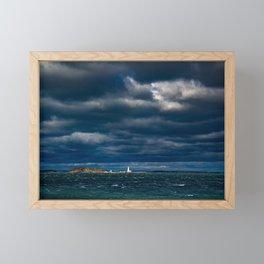 Let there be light Framed Mini Art Print