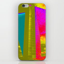 Architectonic in colors iPhone Skin
