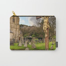 Pantasaph Church Crucifixion Carry-All Pouch