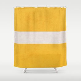 yellow classic Shower Curtain