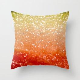 Watermelon Ombre Throw Pillow