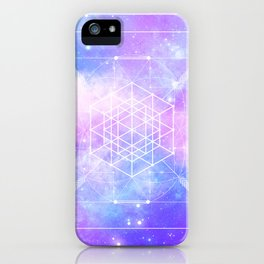 Sacred Geometry (Universal Consciousness) iPhone Case