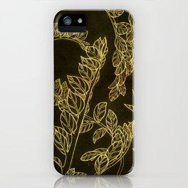 golden school plants iPhone Case
