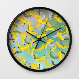 Banana Song Wall Clock