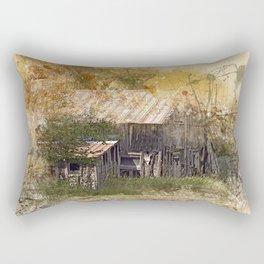 Old Barn Splash Rectangular Pillow