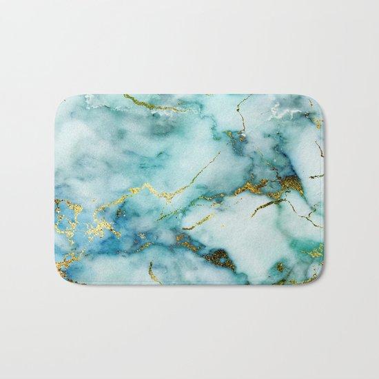 Marble Effect #1 Bath Mat