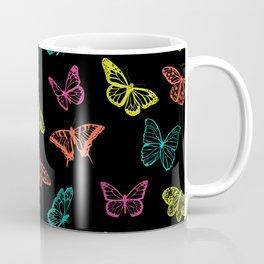 Colorful Butterfly Pattern Coffee Mug