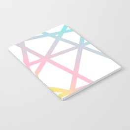 Rainbow x Unicorn Color Notebook