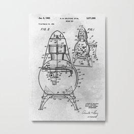 Space toy Metal Print