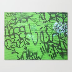 New Orleans Graffitti Canvas Print