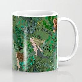 Mermaids in an Underwater Garden Coffee Mug