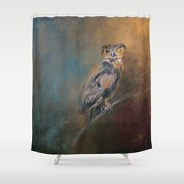 One Eye On You Shower Curtain