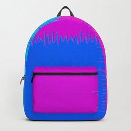 QUARTERS #1 (Blue, Purples & Fuchsias) Backpack