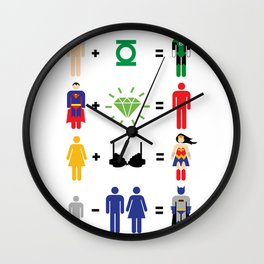JLA Math Wall Clock