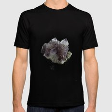 Mineral Mens Fitted Tee Black LARGE