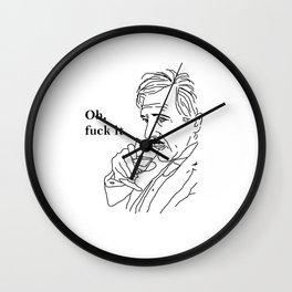 Oh, Fuck It | TGBH (2014) Wall Clock