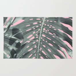 Monstera Finesse #1 #tropical #decor #art #society6 Rug