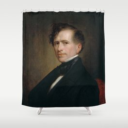 President Franklin Pierce Painting - George Healy Shower Curtain