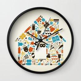Art the house Wall Clock