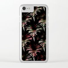 Tropicalia - Leaves Pattern Clear iPhone Case