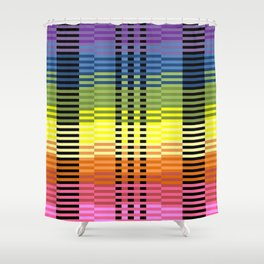 Patterns of Colors In Excel Shower Curtain