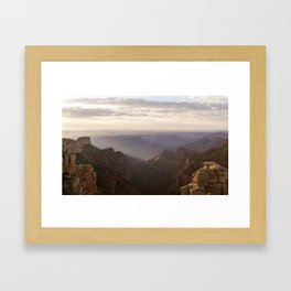 Grand Canyon View from Saddle Mountain Framed Art Print