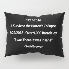 Barton's Collapse 2018 Pillow Sham