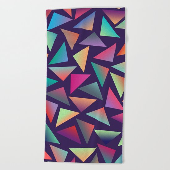 Geometric Pattern III Beach Towel