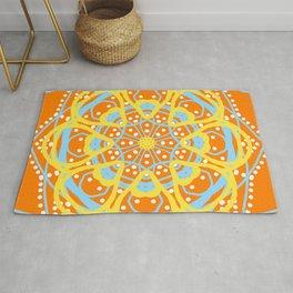 Mandala Summer Sun Rug