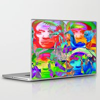pablo picasso Laptop & iPad Skins featuring Pop Picasso by Joe Ganech