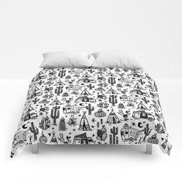 Sleeping Desert Comforters